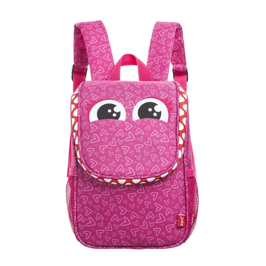 Lõuna kott sangadega, ZIPIT, Wildlings Lunch Bag, LBWD-HIPS, roosa