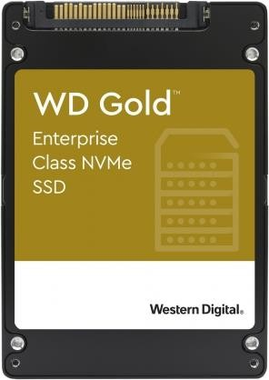 SSD|WESTERN DIGITAL|SSD series WD Gold|1.92TB|PCIE|NVMe|Write speed 2000 MBytes/sec|Read speed 3100 MBytes/sec|Form Factor U.2|MTBF 2000000 hours|WDS192T1D0D