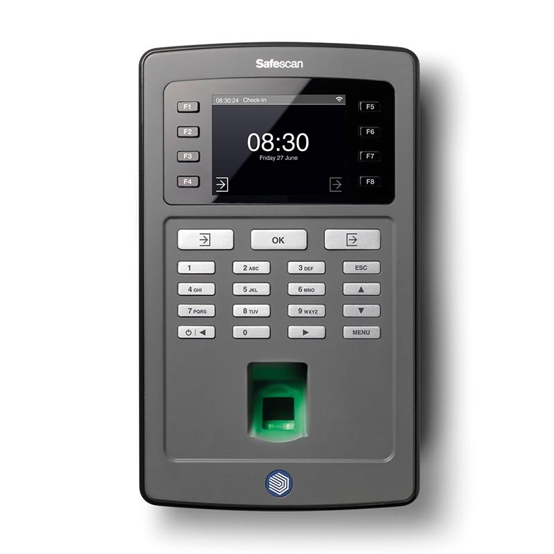 Läbipääasu- ja tööajaarvestussüsteem Safescan TA-8025, must