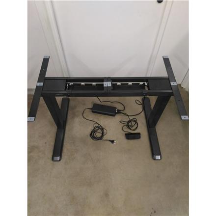SALE OUT. LogiLink EO0001 Sit-Stand Desk Frame, dual motor, black Logilink REFURBISHED USED DAMAGED PACKAGING