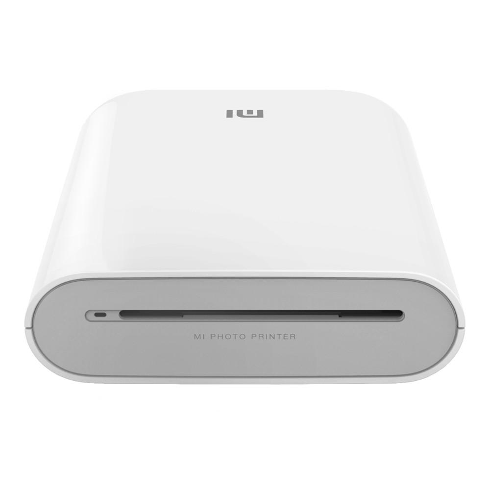 Xiaomi Mi Portable Photo Printer Colour, ZINK Zero-Ink, White