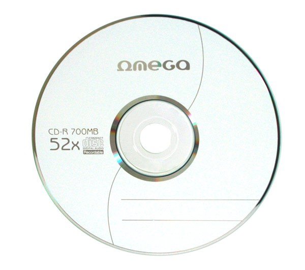 OMEGA CD-R 700MB 52X ENVELOPE, pakk (10 tükk) [56996]