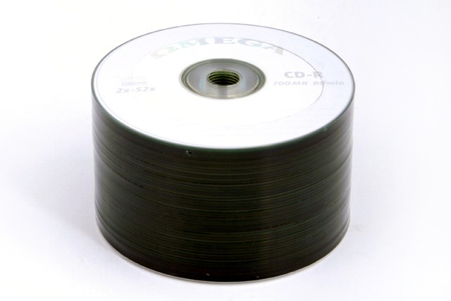 OMEGA CD-R 700MB 52X ENVELOPE, pakk (50 tükk) [56472]
