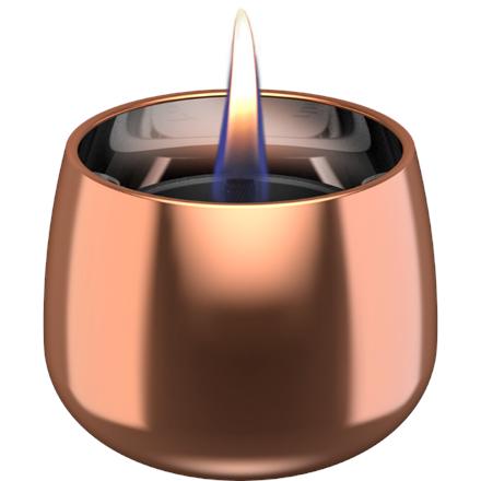 Tenderflame Table burner Crocus 1W Glass Diameter 9.5 cm, Height 7.5 cm, 200 ml, 8 hours, Rose