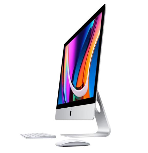 "Apple iMac Retina 5K Screen Desktop, AIO, 27 "", Intel Core i5, i5-10600, Internal memory 8 GB, DDR4, SSD 512 GB, 512 GB, AMD Radeon Pro 5300, Keyboard language Swedish, Mac OS"