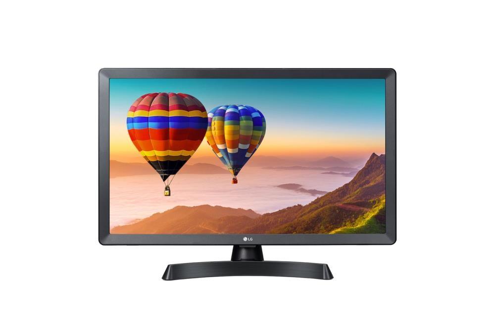 """LG 24TN510S-PZ teler Kokkurullitav ekraan 59,9 cm (23.6"""") Full HD Nutiteleri funktsioon WiFi Must"""