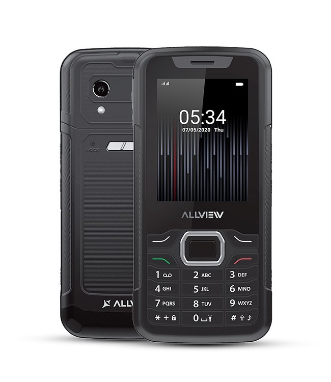 "Allview M10 Jump Black, 2.8 "", QVGA, 240 x 320 pixels, 64 MB, 128 MB, Dual SIM, 3G, Bluetooth, 2.0, USB version microUSB, Built-in camera, Main camera 8 MP"