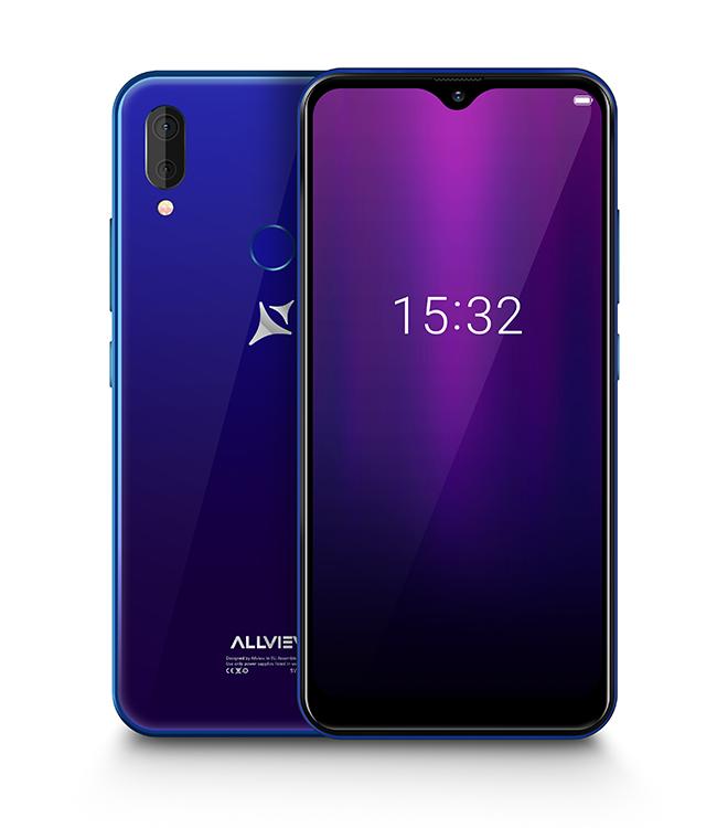 "Allview Soul X6 Mini Blue, 6.2 "", IPS LCD, 720 x 1520, Cortex-A53 quad-core, Internal RAM 2 GB, 16 GB, Micro SD, Dual SIM, Nano SIM, 3G, 4G, Main camera Dual camera 13 + 2 MP, Secondary camera 13 MP, Android, 9.0, 4000 mAh"