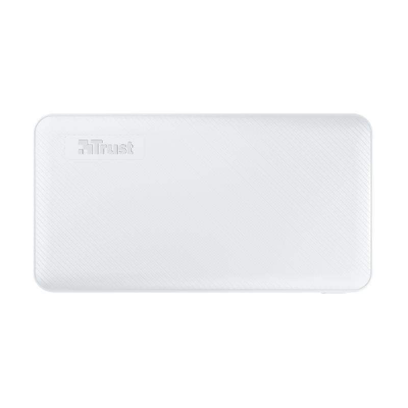 POWER BANK USB 10000MAH/PRIMO WHITE 23896 TRUST