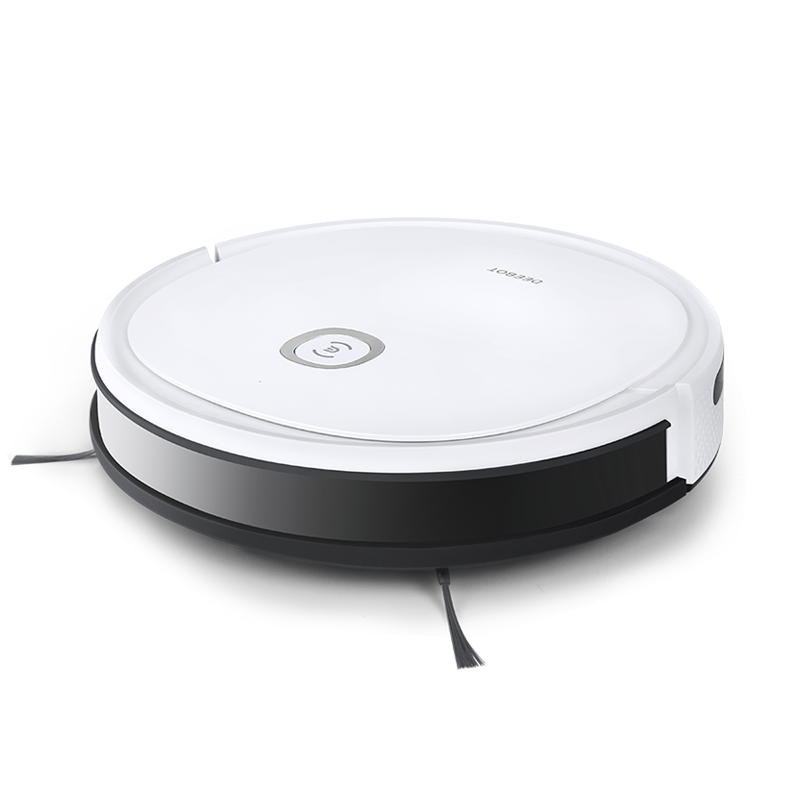 Ecovacs Vacuum cleaner DEEBOT U2 Wet&Dry, Operating time (max) 110 min, Lithium Ion, 2600 mAh, Dust capacity 0.4 L, White, Battery warranty 24 month(s)