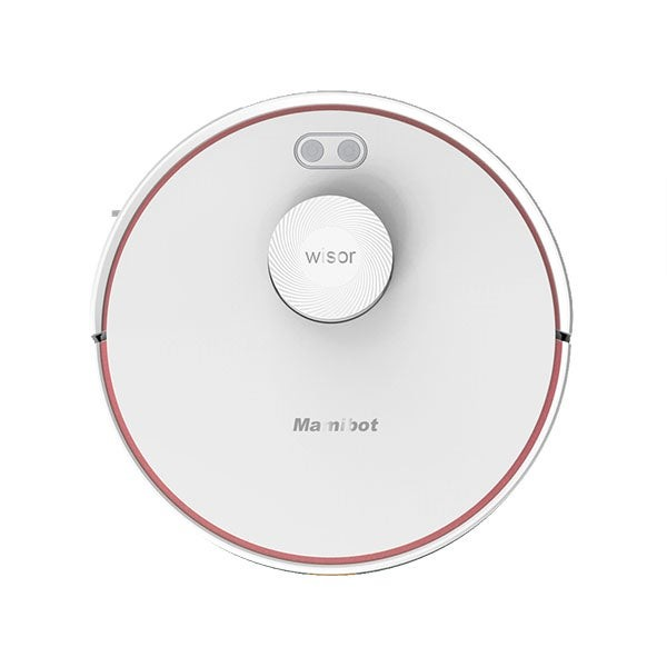 Mamibot Vacuum cleaner EXVAC880 Wet&Dry, Operating time (max) 110 min, Lithium Ion, 2600 mAh, Dust capacity 0.6 L, White, Battery warranty 12 month(s)