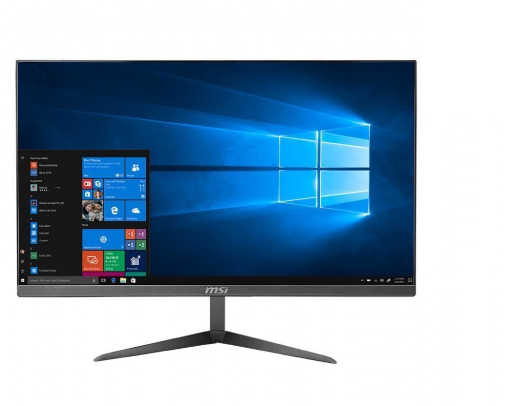 "Monoblock PC|MSI|PRO 24X 10M|All in One|CPU Core i5|i5-10210U|1600 MHz|Screen 23.8""|RAM 8GB|DDR4|HDD 1TB|7200 rpm|SSD 256GB|Graphics card Intel UHD Graphics|Integrated|Windows 10 Home|Colour Silver|PRO24X10M-043EU"