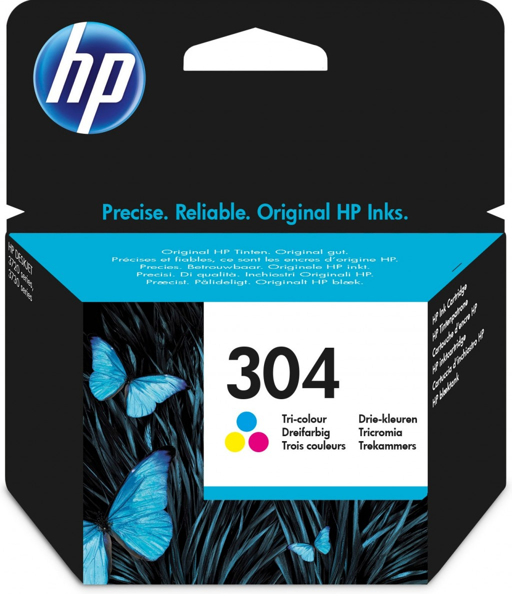 HP N9K05AE ink cartridge No. 304, tricolor