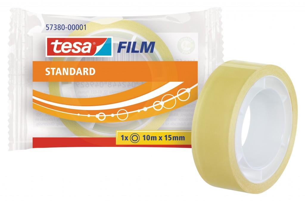 Teip Tesa Film, 10m x 15mm, läbipaistev