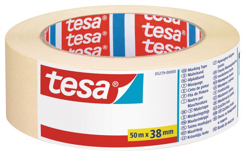 Maalriteip Tesa, 50m x 38mm