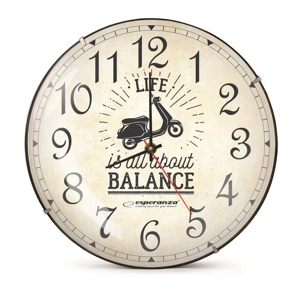 ESPERANZA EHC018S SEATTLE - WALL CLOCK