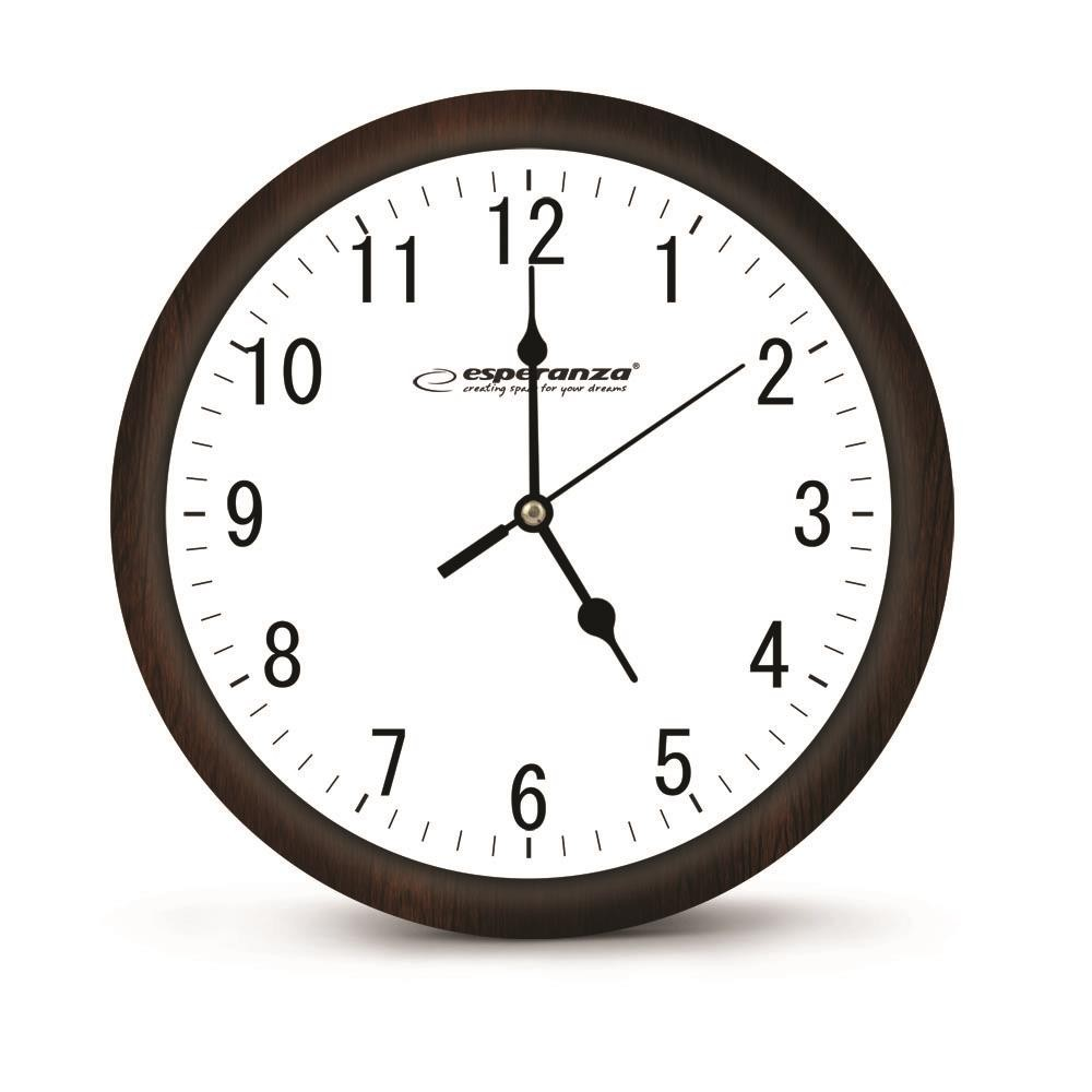 ESPERANZA EHC015W LOS ANGELES - WALL CLOCK - WHITE