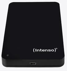 External HDD INTENSO 6002560 1TB Colour Black 6002560