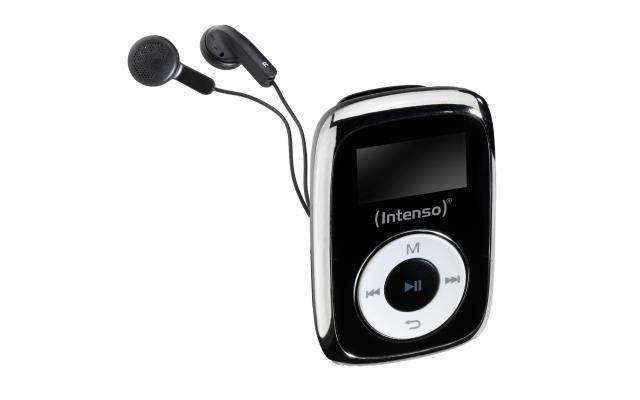 MP3 PLAYER 8GB BLACK/3614560 INTENSO
