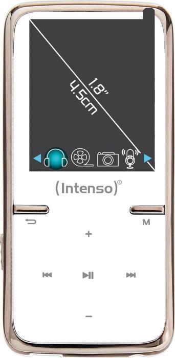 MP3 PLAYER 8GB WHITE/3717462 INTENSO
