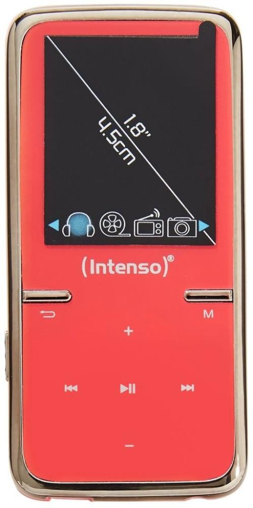 MP3 PLAYER 8GB PINK/3717463 INTENSO