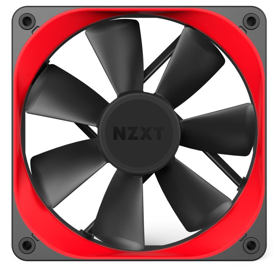 CASE FAN ACC AER TRIM/RED RF-ACT12-R1 NZXT