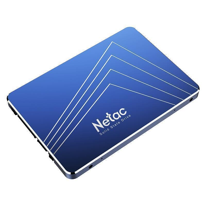 SSD|NETAC|256GB|SATA 3.0|Write speed 400 MBytes/sec|Read speed 500 MBytes/sec|2,5"