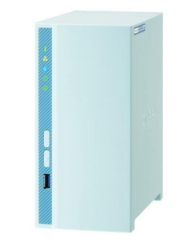 QNAP TS-230 võrkupääsu- ja varundusserver NAS Tower Ethernet LAN Sinine RTD1296