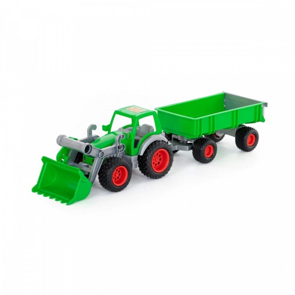 WADER-POLESIE Farmer Tec hnic Tractor w. frontlo