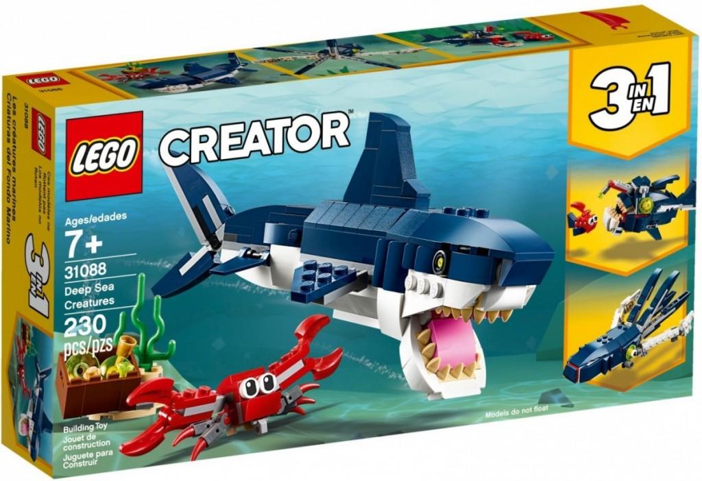 Blocks Creator Deep Sea Creatures