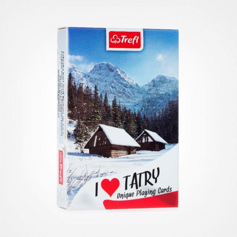 Cards I love Tatry winter