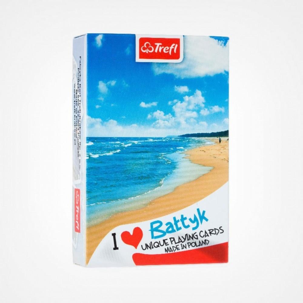 Cards I love Poland Baltic Beach
