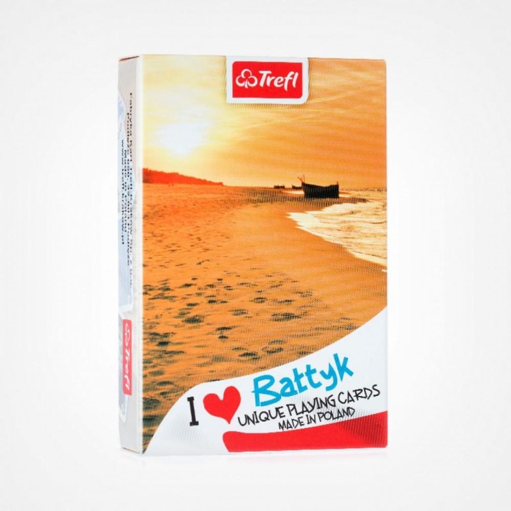 Cards I love Poland Baltic Sunset