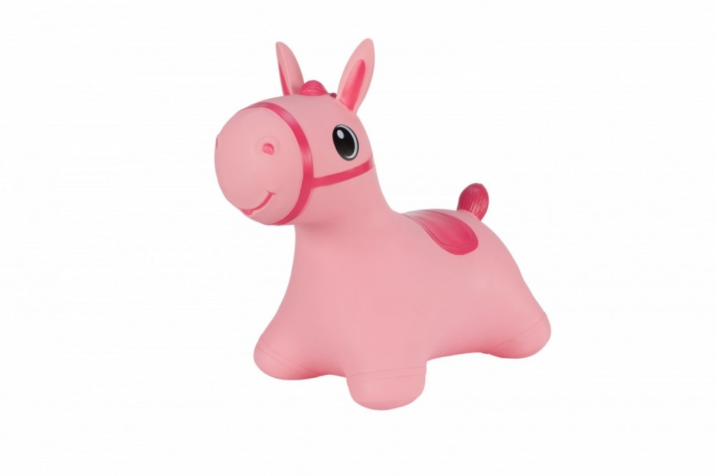 Jumper horse pink