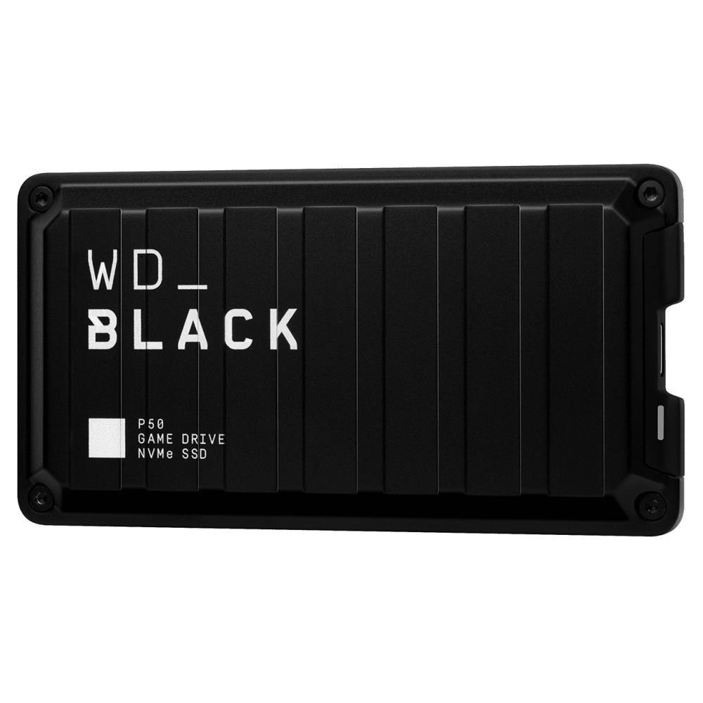 External SSD WESTERN DIGITAL Black 500GB USB-C WDBA3S5000ABK-WESN