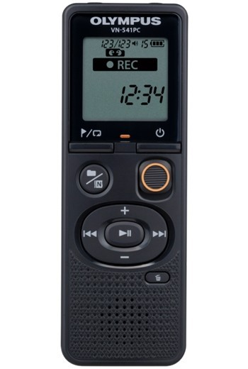 Voice recorder Olympus VN-541PC + one-way ME52