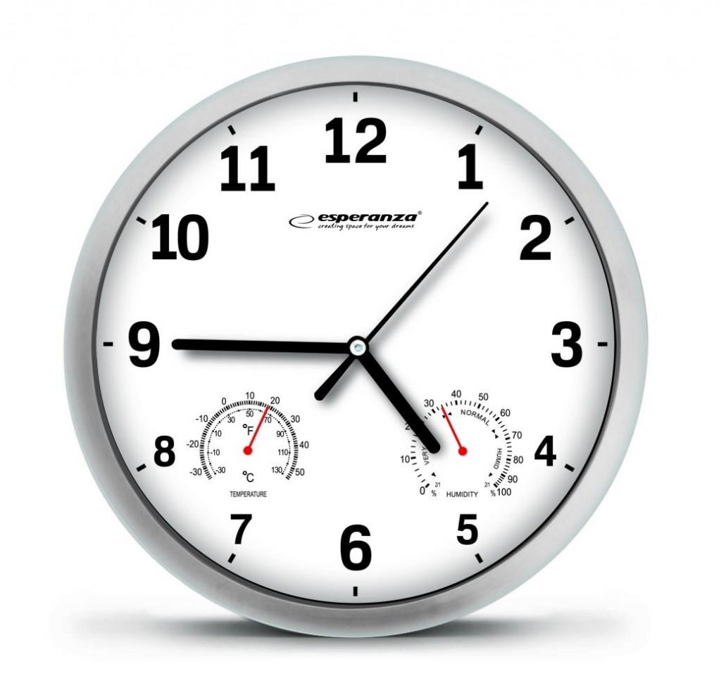 WALL CLOCK  LYON WHITE
