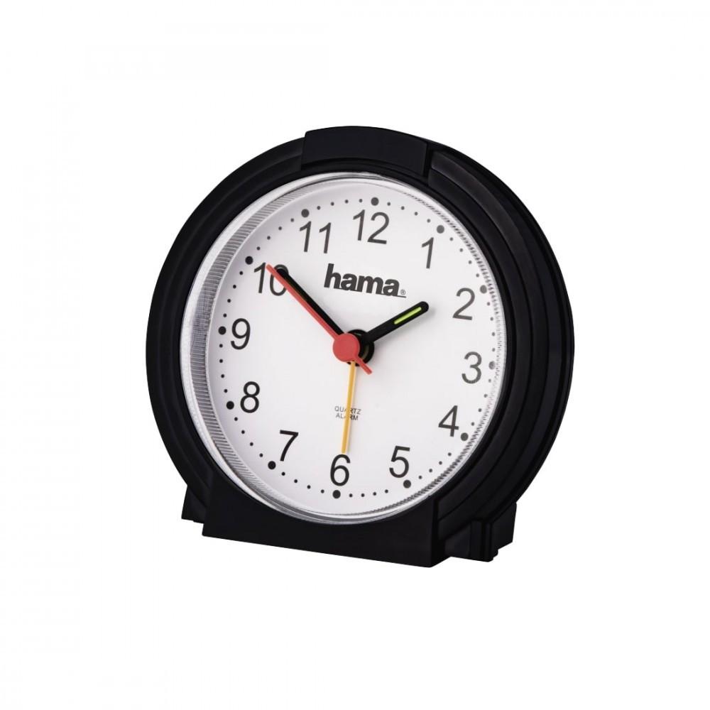 Alarm clock Classic Hama low noice black