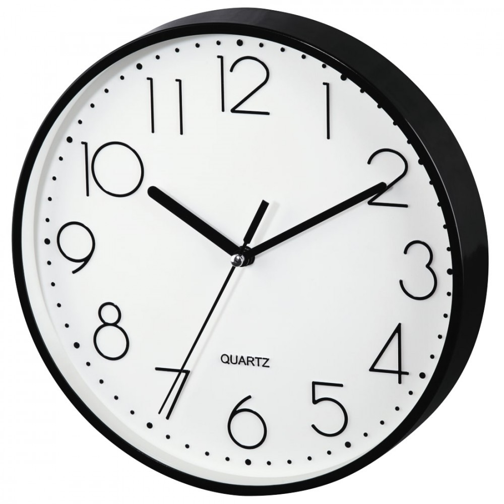 Wall clock Hama PG-220 low-noise black