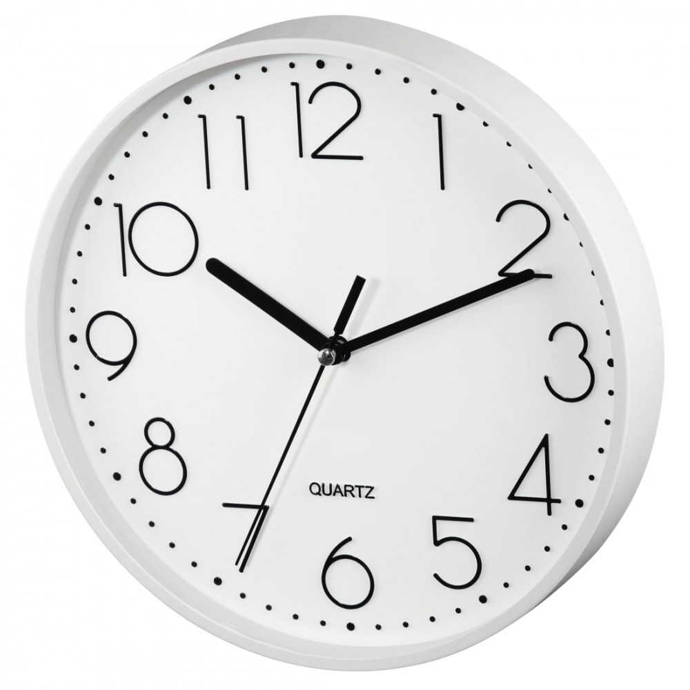 Wall clock Hama PG-220 low-noise white