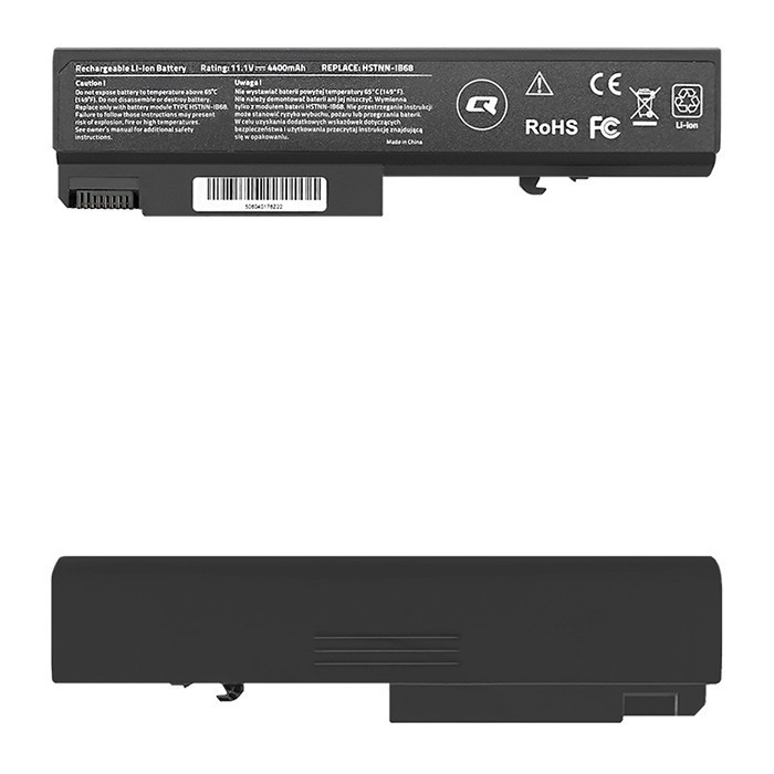 Battery for HP EliteBook 6930p 8440P, ProBook 6550B, 4400mAh, 10.8-11.1V