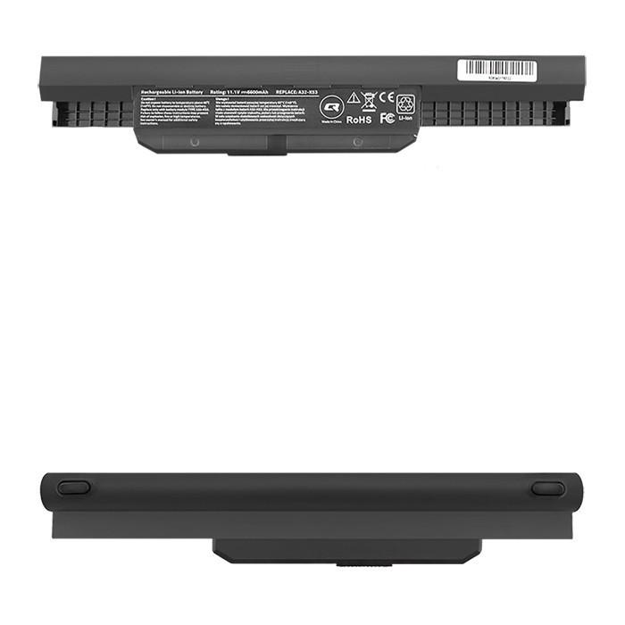 Battery for Asus K53S X54C A32-K53, 6600mAh, 10.8-11.1V