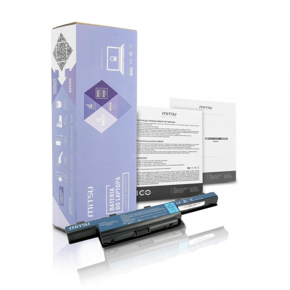 Battery for Acer Aspire 4551, 4741, 5741 4400 mAh (48 Wh) 10.8 - 11.1 Volt
