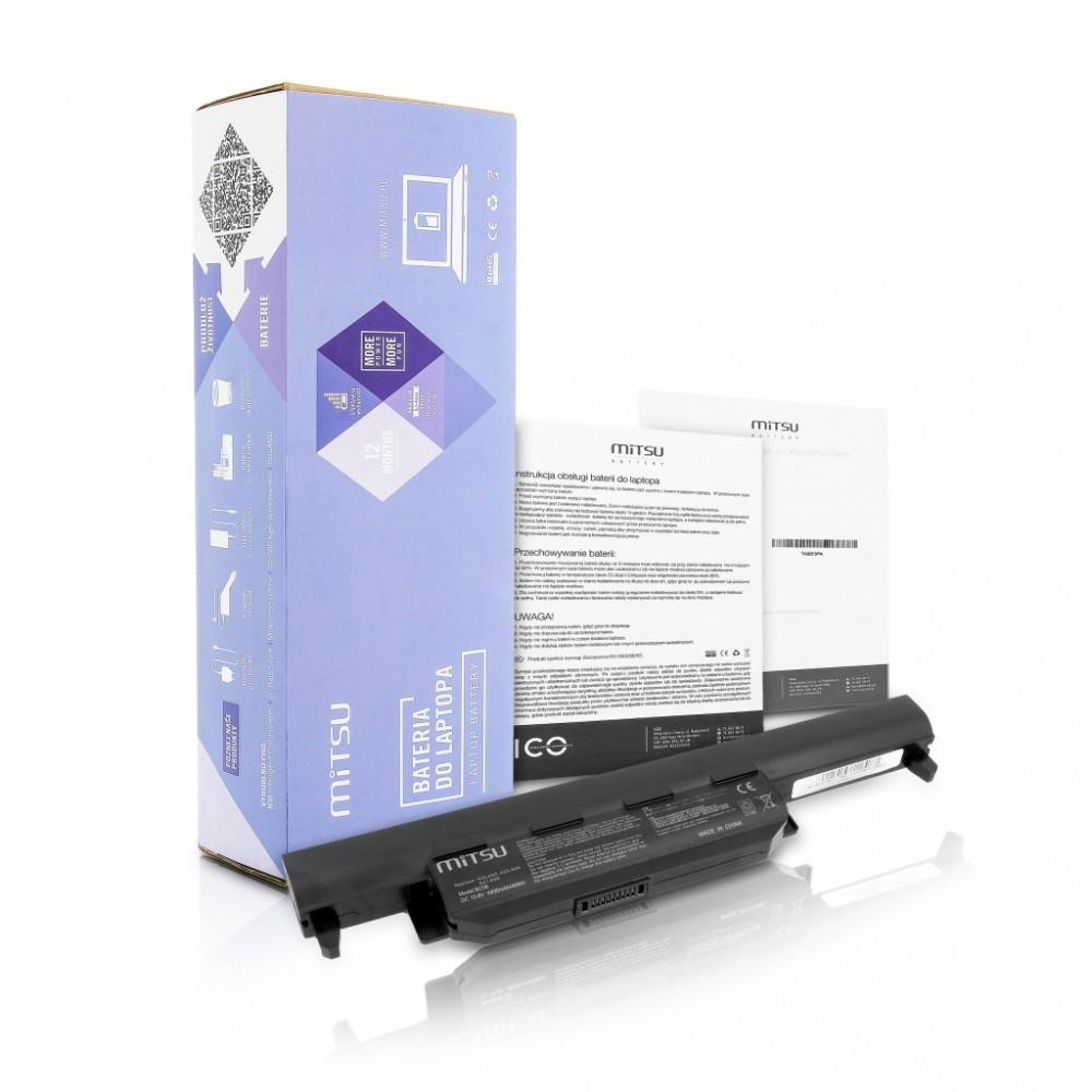 Battery for Asus A55, K45, K55 4400 mAh (48 Wh) 10.8 - 11.1 Volt