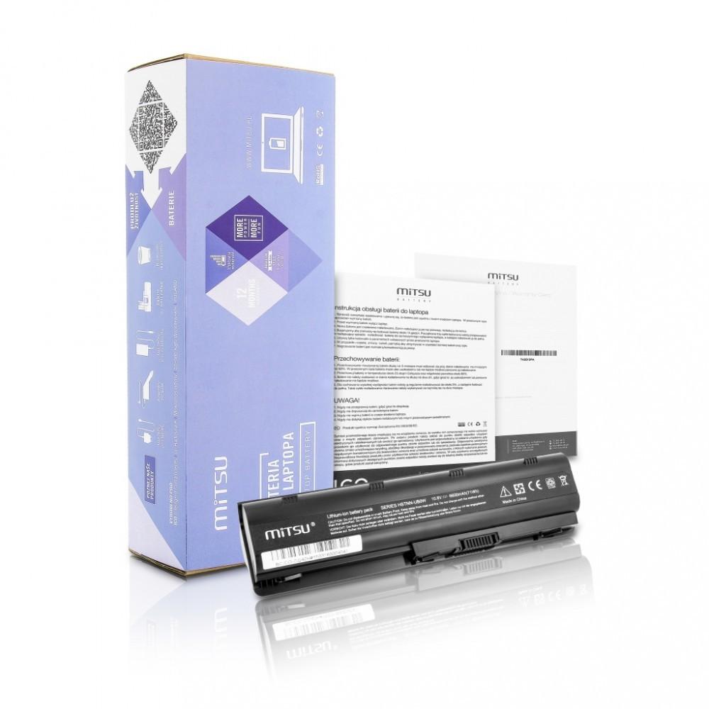 Battery for Compaq Presario CQ42, CQ62, CQ72 6600 mAh (71 Wh) 10.8 - 11.1 Volt