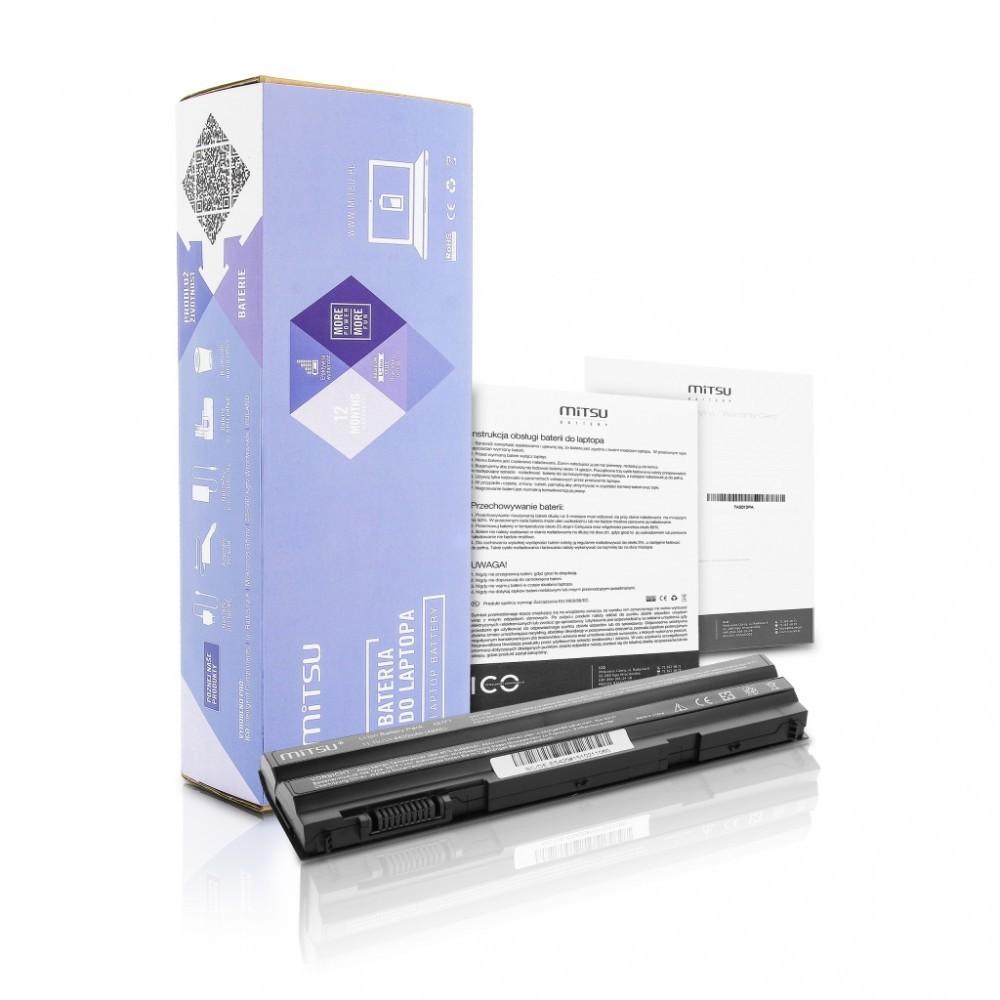 Battery for Dell Latitude E5420, E6420 4400 mAh (49 Wh) 10.8 - 11.1 Volt