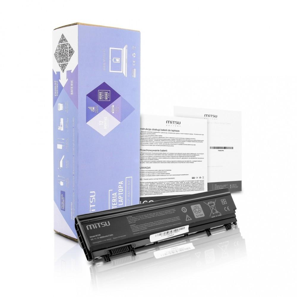 Battery for Dell Latitude E5440, E5540 4400 mAh (49 Wh) 10.8 - 11.1 Volt