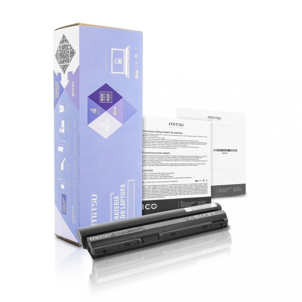Battery for Dell Latitude E6220, E6320 4400 mAh (49 Wh) 10.8 - 11.1 Volt
