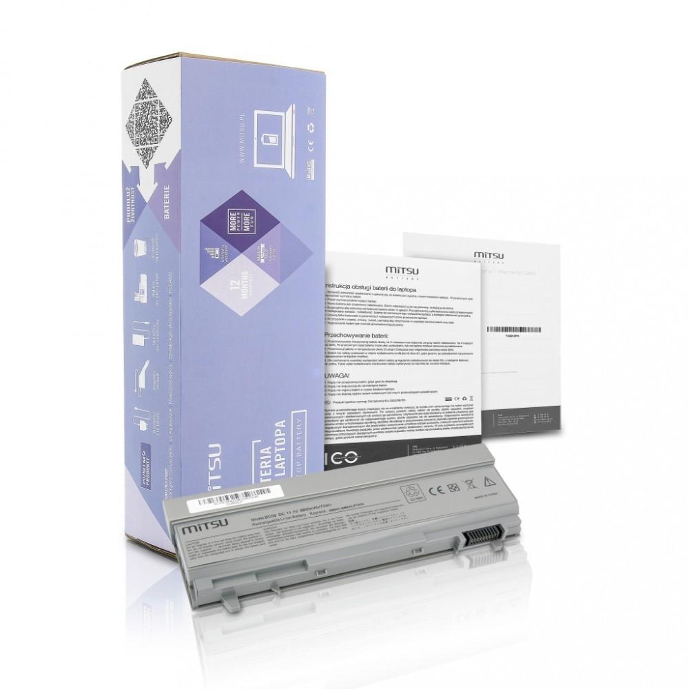 Battery for Dell Latitude E6400 6600 mAh (73 Wh) 10.8 - 11.1 Volt