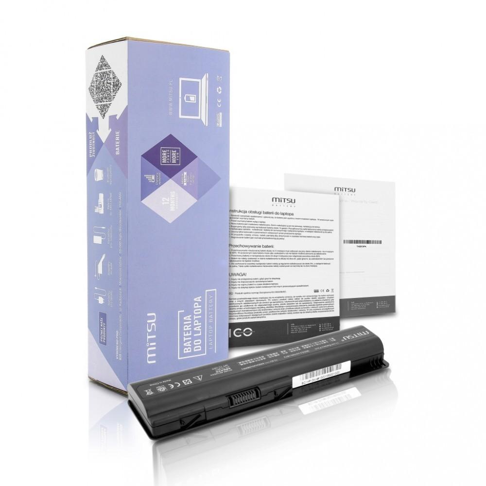 Battery for HP dv4, dv5, dv6 4400 mAh (48 Wh) 10.8 - 11.1 Volt
